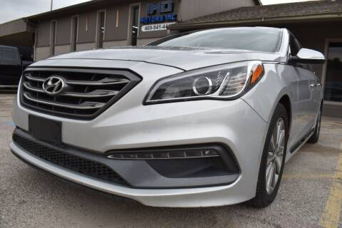 2016 Hyundai Sonata for sale at IMD Motors in Richardson TX