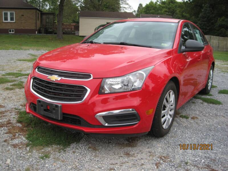 2015 Chevrolet Cruze for sale at Lang Motor Company in Cape Girardeau MO