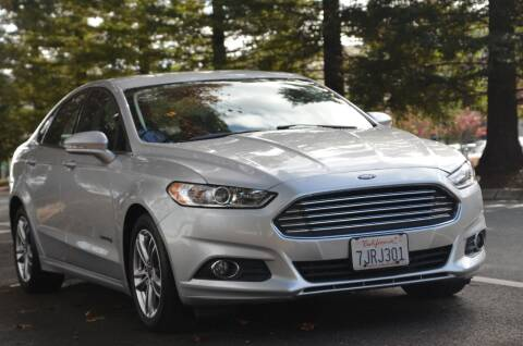 2015 Ford Fusion Hybrid for sale at Brand Motors llc in Belmont CA