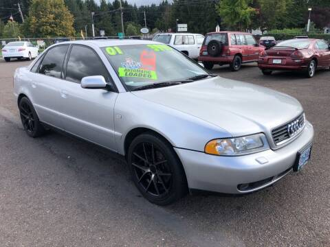 2001 Audi A4 for sale at Freeborn Motors in Lafayette, OR