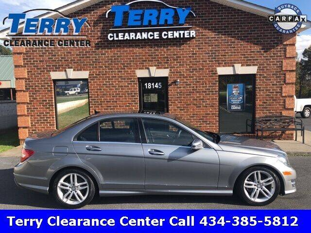 2012 Mercedes-Benz C-Class for sale at Terry Clearance Center in Lynchburg VA