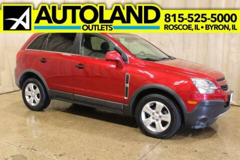 2014 Chevrolet Captiva Sport for sale at AutoLand Outlets Inc in Roscoe IL