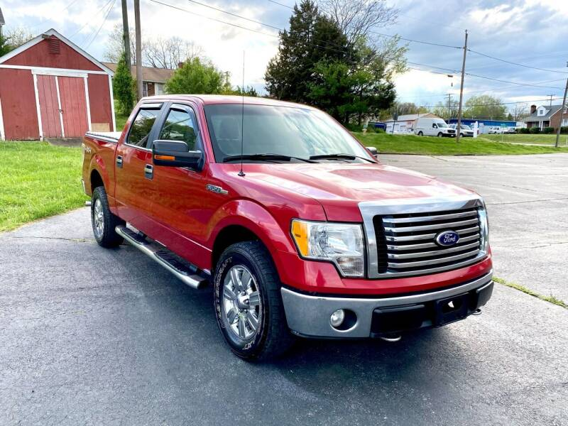 2010 Ford F-150 for sale at ANZ AUTO CONCEPTS LLC in Fredericksburg VA