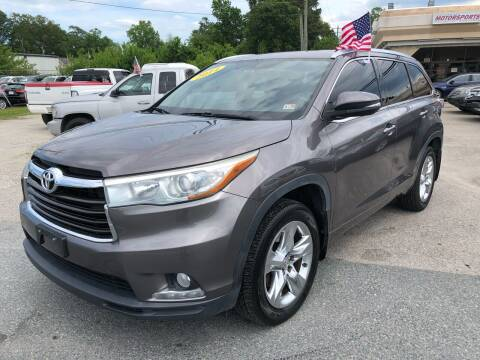 2014 Toyota Highlander for sale at Mega Autosports in Chesapeake VA