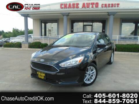 2018 Ford Focus for sale at Chase Auto Credit in Oklahoma City OK