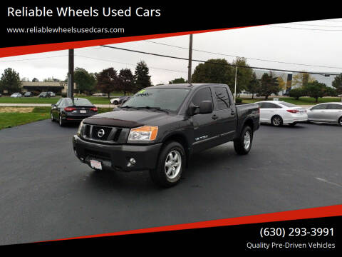 2010 Nissan Titan for sale at Reliable Wheels Used Cars in West Chicago IL