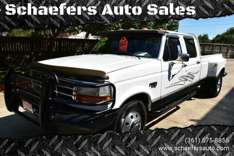 1996 Ford F-350 for sale at Schaefers Auto Sales in Victoria TX