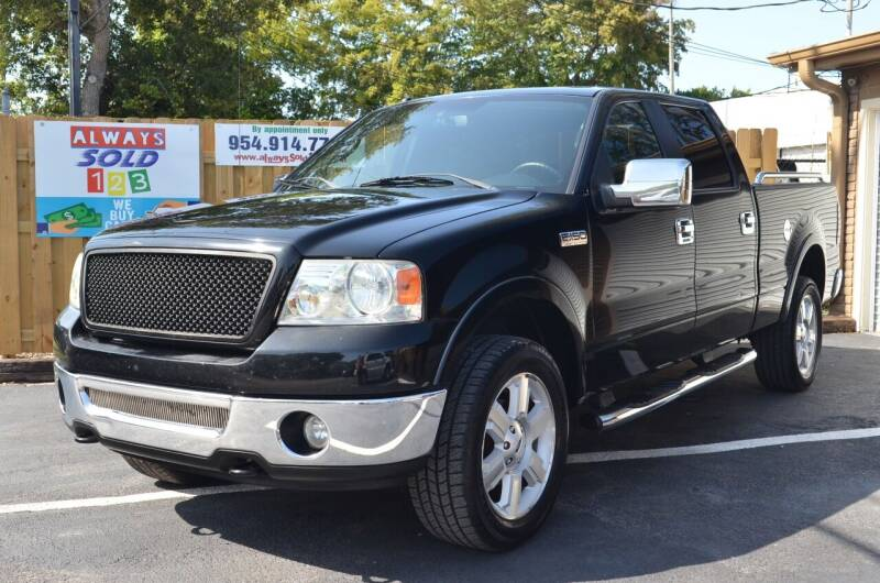 2008 Ford F-150 for sale at ALWAYSSOLD123 INC in Fort Lauderdale FL