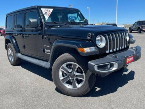 2020 Jeep Wrangler Unlimited for sale at Rocky Mountain Commercial Trucks in Casper WY