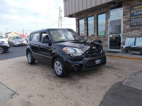 2013 Kia Soul for sale at Preferred Motor Cars of New Jersey in Keyport NJ