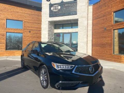 2018 Acura TLX for sale at Hamilton Motors in Lehi UT