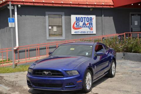 2013 Ford Mustang for sale at Motor Car Concepts II - Kirkman Location in Orlando FL