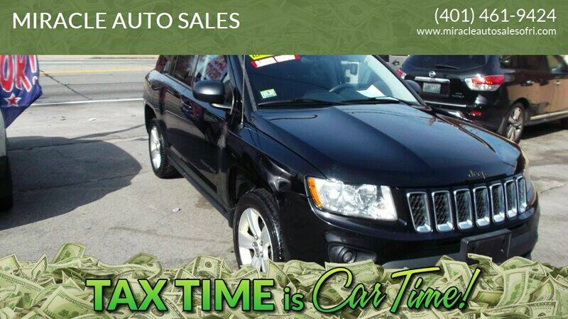 2012 Jeep Compass for sale at MIRACLE AUTO SALES in Cranston RI