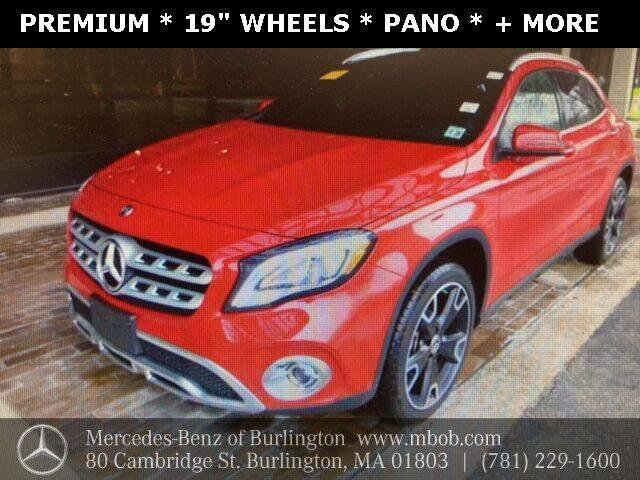 2020 Mercedes-Benz GLA for sale at Mercedes Benz of Burlington in Burlington MA