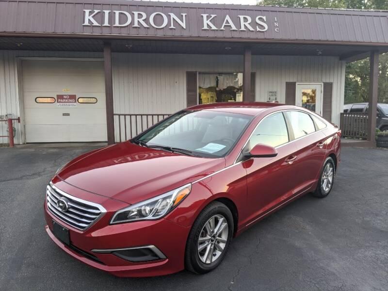 2016 Hyundai Sonata for sale at Kidron Kars INC in Orrville OH