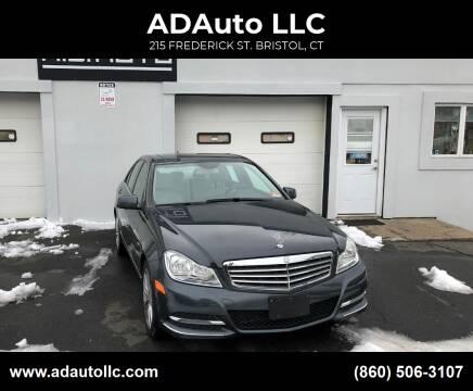 2014 Mercedes-Benz C-Class for sale at ADAuto LLC in Bristol CT