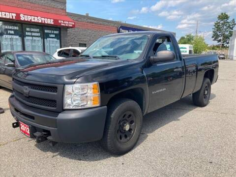 2012 Chevrolet Silverado 1500 for sale at AutoCredit SuperStore in Lowell MA