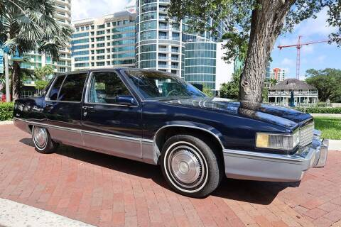 1990 Cadillac Fleetwood for sale at Choice Auto in Fort Lauderdale FL