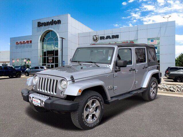 2018 Jeep Wrangler JK Unlimited for sale in Littleton, CO