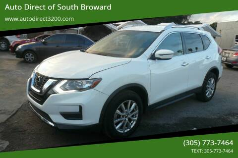 2018 Nissan Rogue for sale at Auto Direct of South Broward in Miramar FL