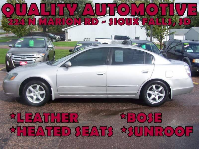 2005 Nissan Altima for sale at Quality Automotive in Sioux Falls SD