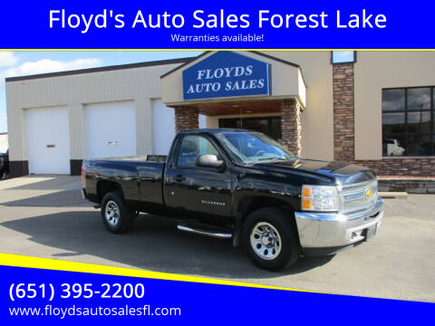 2013 Chevrolet Silverado 1500 for sale at Floyd's Auto Sales Forest Lake in Forest Lake MN