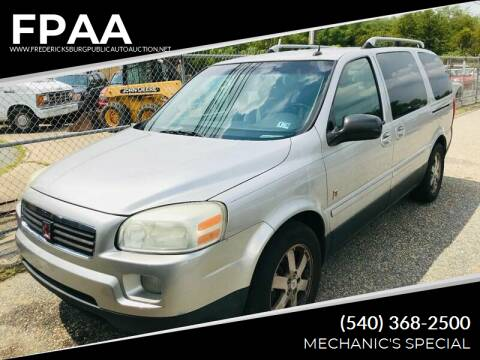 2005 Saturn Relay for sale at FPAA in Fredericksburg VA