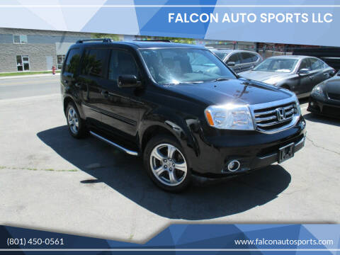 2013 Honda Pilot for sale at Falcon Auto Sports LLC in Murray UT