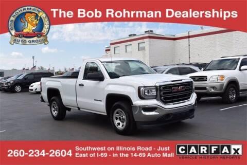 2016 GMC Sierra 1500 for sale at BOB ROHRMAN FORT WAYNE TOYOTA in Fort Wayne IN