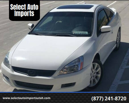 2006 Honda Accord for sale at Select Auto Imports in Provo UT