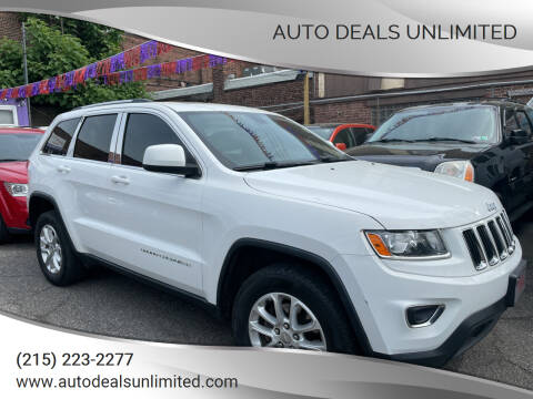 2014 Jeep Grand Cherokee for sale at AUTO DEALS UNLIMITED in Philadelphia PA