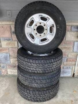 2015 GMC 8-LUG FACTORY WHEELS for sale at Affordable Auto Sales in Cambridge MN