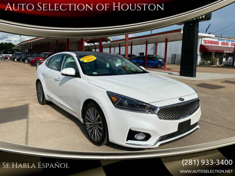 2018 Kia Cadenza for sale at Auto Selection of Houston in Houston TX