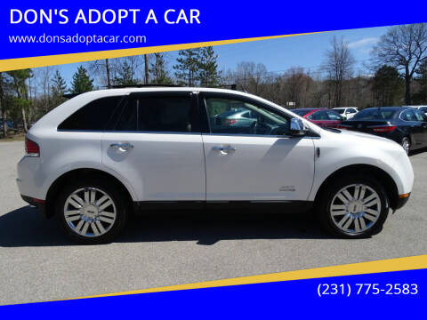 2010 Lincoln MKX for sale at DON'S ADOPT A CAR in Cadillac MI
