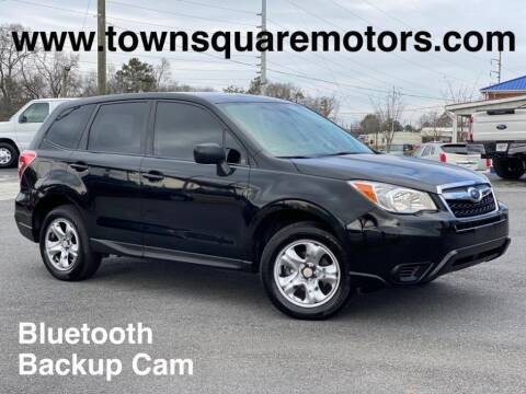 2016 Subaru Forester for sale at Town Square Motors in Lawrenceville GA