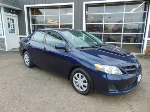 2011 Toyota Corolla for sale at Akron Auto Sales in Akron OH