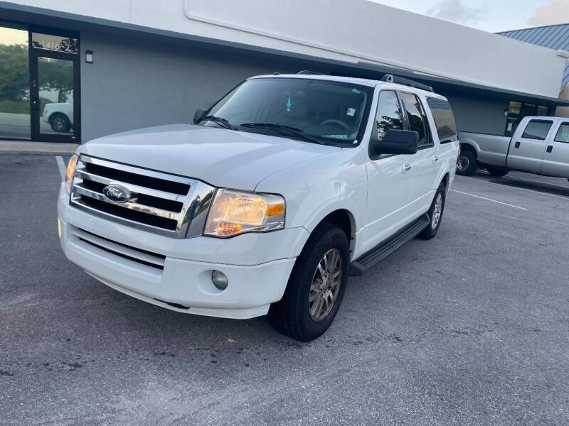 2012 Ford Expedition EL for sale at UNITED AUTO BROKERS in Hollywood FL