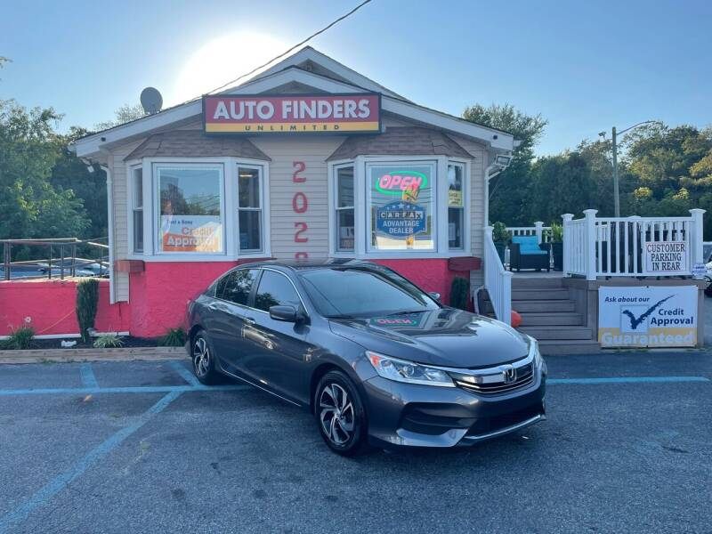 2017 Honda Accord for sale at Auto Finders Unlimited LLC in Vineland NJ