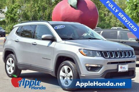 2017 Jeep Compass for sale at APPLE HONDA in Riverhead NY