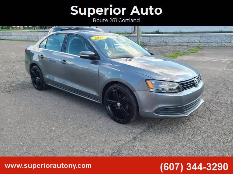 2011 Volkswagen Jetta for sale at Superior Auto in Cortland NY