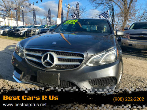 2016 Mercedes-Benz E-Class for sale at Best Cars R Us in Plainfield NJ