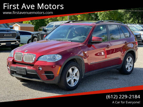 2011 BMW X5 for sale at First Ave Motors in Shakopee MN