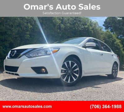 2016 Nissan Altima for sale at Omar's Auto Sales in Martinez GA