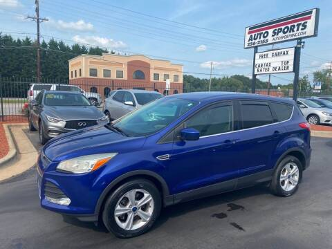 2014 Ford Escape for sale at Auto Sports in Hickory NC