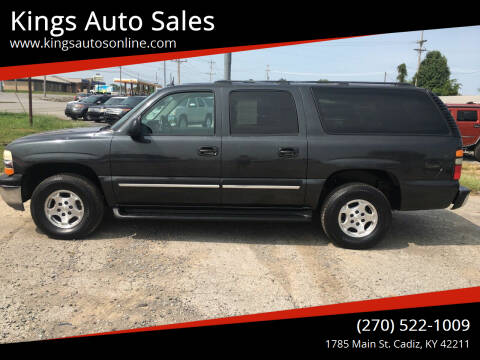 2005 Chevrolet Suburban for sale at Kings Auto Sales in Cadiz KY