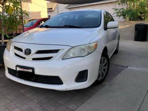 2011 Toyota Corolla for sale at Used Cars Los Angeles in Los Angeles CA