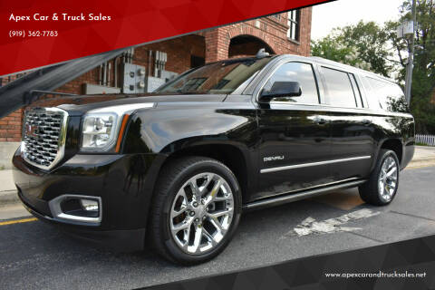 2018 GMC Yukon XL for sale at Apex Car & Truck Sales in Apex NC