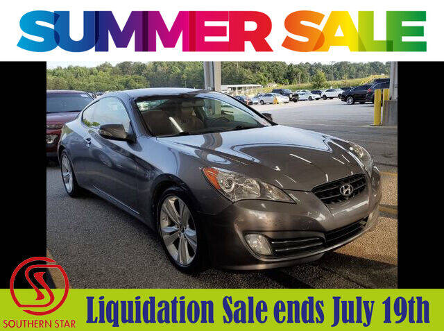 2010 Hyundai Genesis Coupe for sale at Southern Star Automotive, Inc. in Duluth GA