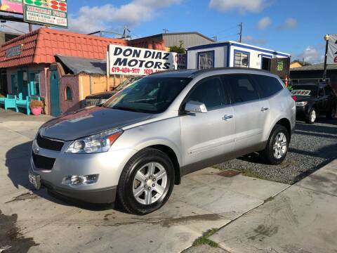 2010 Chevrolet Traverse for sale at DON DIAZ MOTORS in San Diego CA