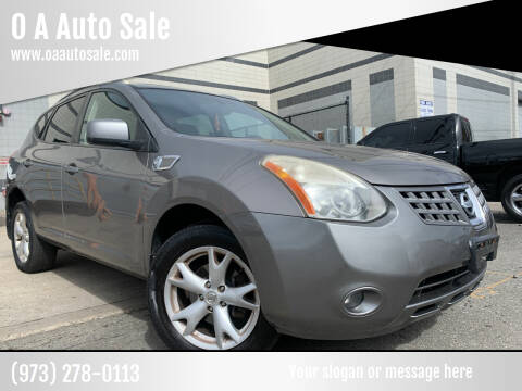2008 Nissan Rogue for sale at O A Auto Sale in Paterson NJ